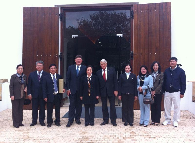 La Motte Hosts Vietnamese Vice-President