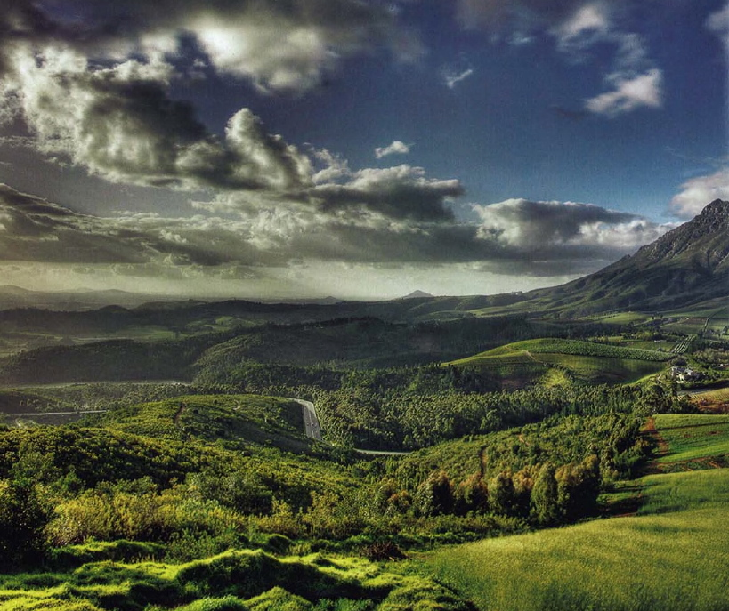 The Cape Winelands of South Africa