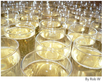 Champagne Prices Plummet in UK
