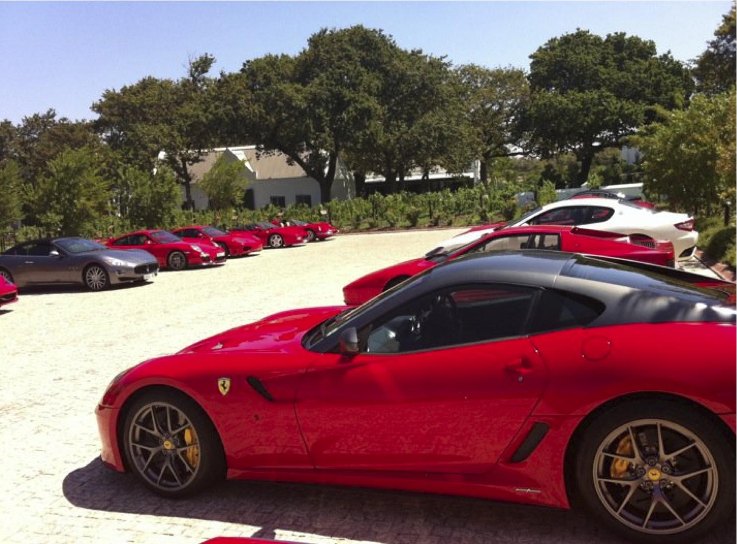Ferrari Club at La Motte