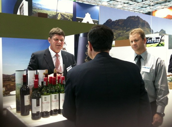 Selling Leopard's Leap at ProWein