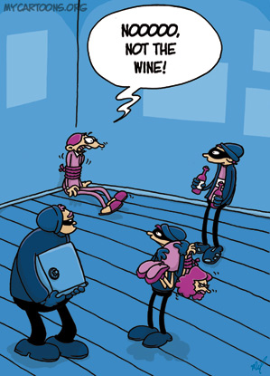 Stealing Wine – An Actual Crime