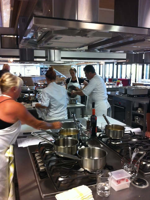 Hands-On Cooking at Liam Tomlin Food