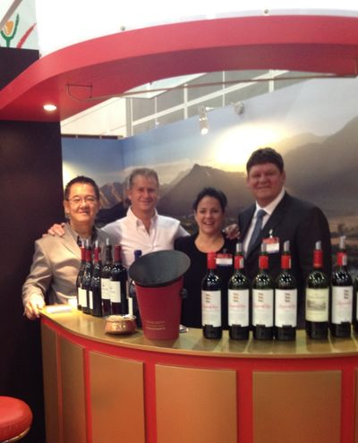 The Team at Vinexpo Asia-Pacific 2012