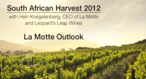 2012 Harvest Outlook for La Motte