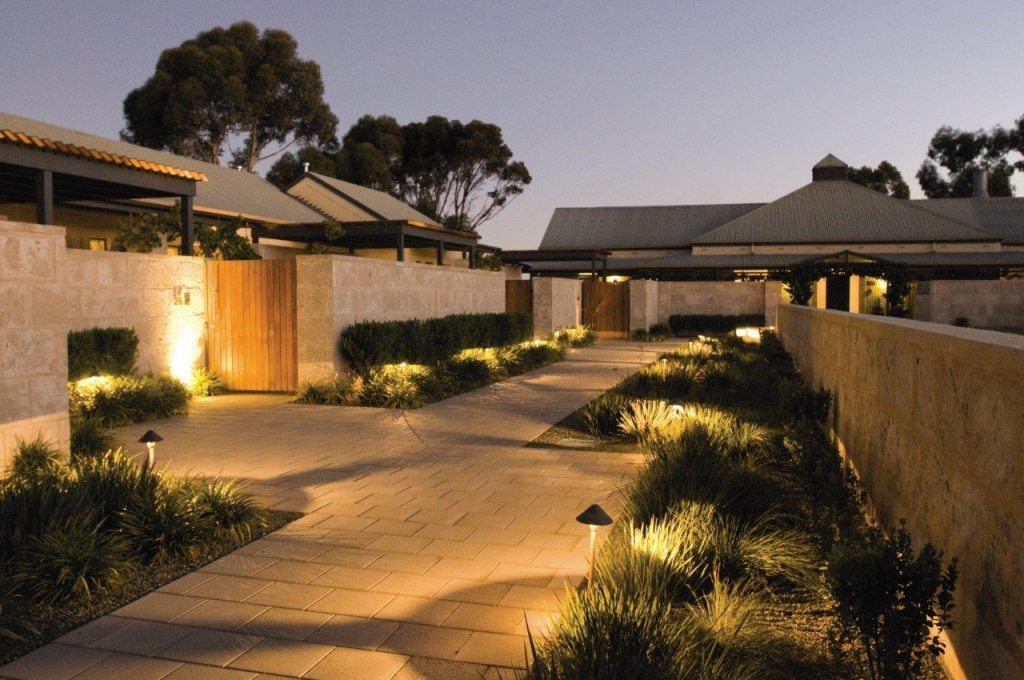 The Louise Barossa Valley Courtyard by night Hero Image 1024x680