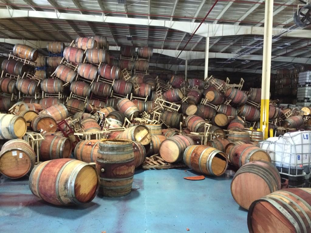 napa earthquake napa barrel care
