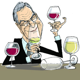 wine writer cartoon1