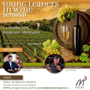 young leaders in wine