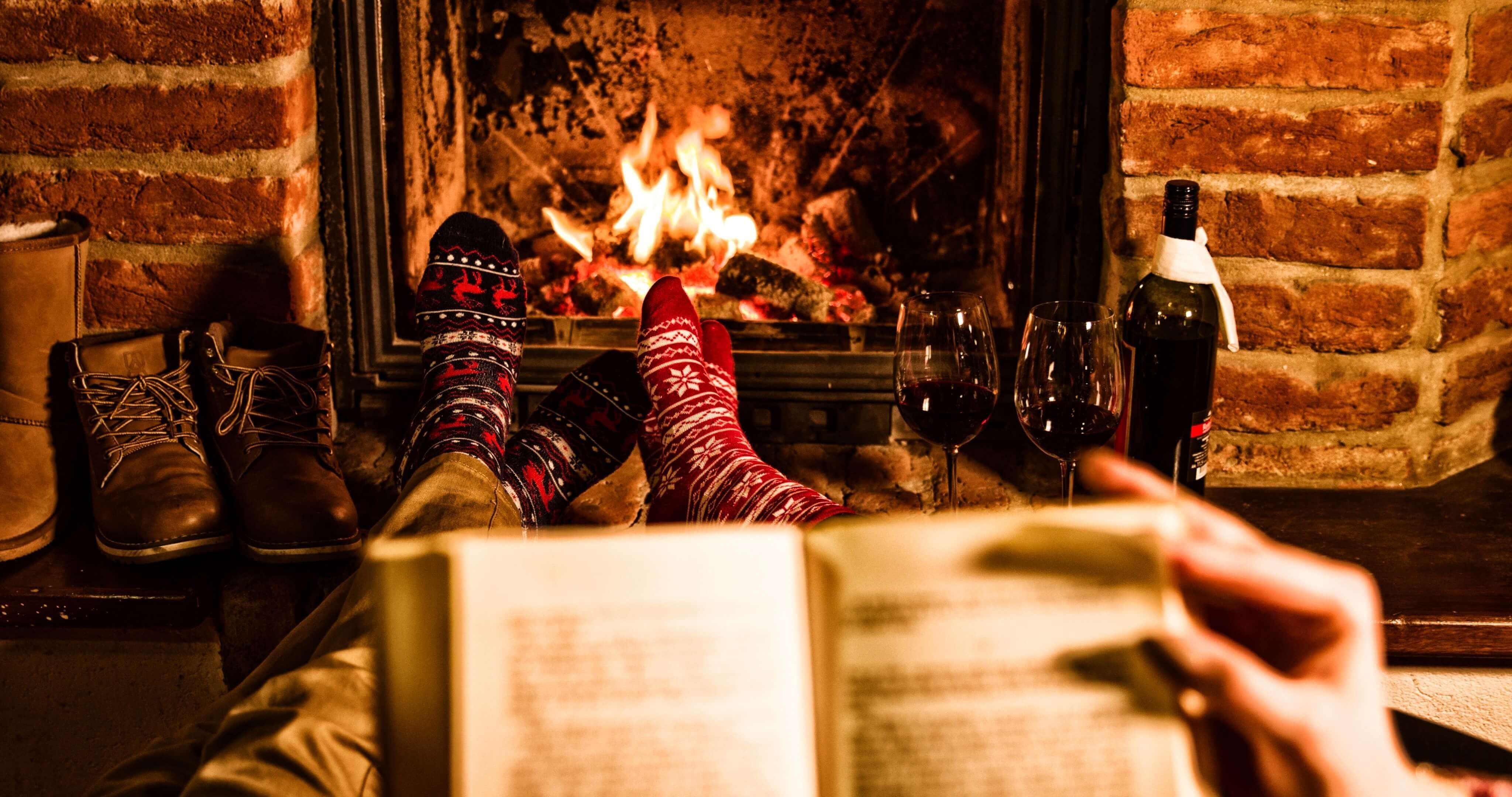 Wine in front of fire place low res 2