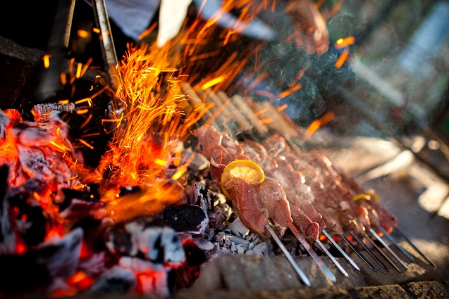 Open Fire cooking resize
